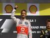 GP BELGIO, 02.09.2012- Gara, Jenson Button (GBR) McLaren Mercedes MP4-27 vincitore