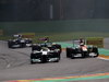 GP BELGIO, 02.09.2012- Gara, Nico Rosberg (GER) Mercedes AMG F1 W03 e Paul di Resta (GBR) Sahara Force India F1 Team VJM05