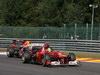 GP BELGIO, 02.09.2012- Gara, Felipe Massa (BRA) Ferrari F2012 davanti a Sebastian Vettel (GER) Red Bull Racing RB8
