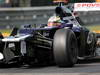 GP BELGIO, 02.09.2012- Gara, Crash, Pastor Maldonado (VEN) Williams F1 Team FW34 retires from the race