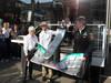 GP BELGIO, Michael Schumacher (GER), Mercedes AMG Petronas F1 Team celebrate his 300 GP in Formula 1, in the picture with Ross Brawn (GBR), Team Principal, Mercedes GP  e Bernie Ecclestone (GBR)