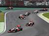 GP BRASILE, 25.11.2012- Gara, Mark Webber (AUS) Red Bull Racing RB8 off track