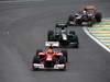 GP BRASILE, 25.11.2012- Gara, Felipe Massa (BRA) Ferrari F2012