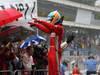 GP BRASILE, 25.11.2012- Gara, secondo Fernando Alonso (ESP) Ferrari F2012