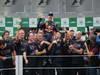 GP BRASILE, 25.11.2012- Gara, Festeggiamenti, Sebastian Vettel (GER) Red Bull Racing RB8, World Champion 2012 with Adrian Newey (GBR), Red Bull Racing , Technical Operations Director e Christian Horner (GBR), Red Bull Racing, Sporting Director