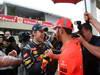 GP BRASILE, 25.11.2012- Gara, Sebastian Vettel (GER) Red Bull Racing RB8, world champion 2012 with Lewis Hamilton (GBR) McLaren Mercedes MP4-27