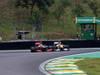 GP BRASILE, 25.11.2012- Gara, Lewis Hamilton (GBR) McLaren Mercedes MP4-27 overtakes Nico Hulkenberg (GER) Sahara Force India F1 Team VJM05