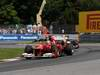 GP CANADA, 10.06.2012- Gara, Fernando Alonso (ESP) Ferrari F2012 davanti a Sebastian Vettel (GER) Red Bull Racing RB8