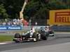 GP CANADA, 10.06.2012- Gara, Kamui Kobayashi (JAP) Sauber F1 Team C31 davanti a Michael Schumacher (GER) Mercedes AMG F1 W03