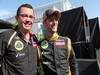GP CANADA, 10.06.2012- Gara, Festeggiamenti, Eric Boullier (FRA), Team Manager, Lotus F1 Team e secondo Romain Grosjean (FRA) Lotus F1 Team E20