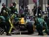 GP CANADA, 10.06.2012- Gara, Pit Stop, Vitaly Petrov (RUS) Caterham F1 Team CT01