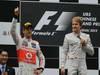 GP CHINA, 15.04.2012 - Gara,  Podium 1st Nico Rosberg (GER) Mercedes AMG F1 W03, 2nd Jenson Button (GBR) McLaren Mercedes MP4-27