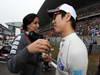 GP CHINA, 15.04.2012 - Gara, Atmosphere Kamui Kobayashi (JAP) Sauber F1 Team C31