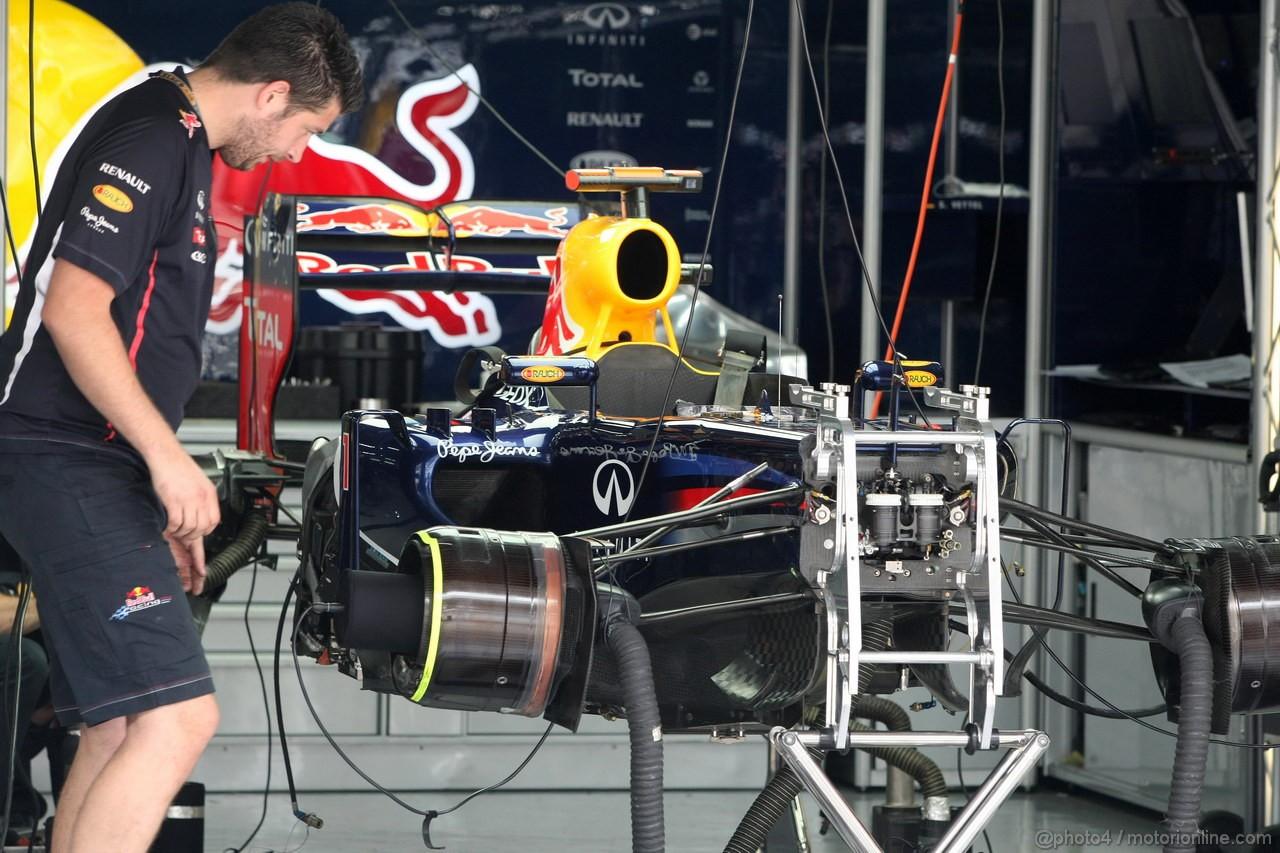 GP COREA, 14.10.2012- Sebastian Vettel (GER) Red Bull Racing RB8