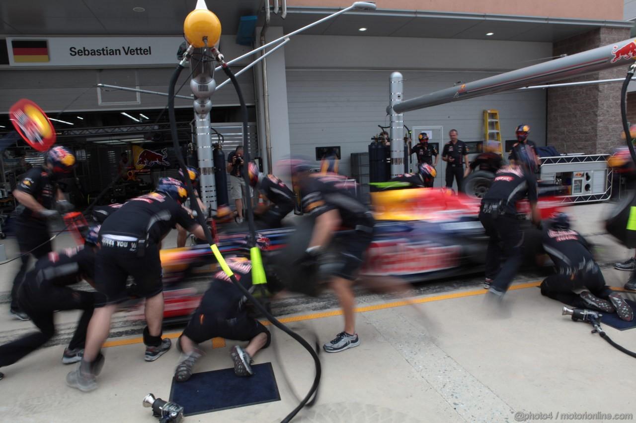 GP COREA, 14.10.2012- Mark Webber (AUS) Red Bull Racing RB8