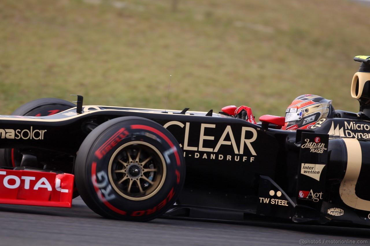 GP COREA, 14.10.2012- Gara, Romain Grosjean (FRA) Lotus F1 Team E20
