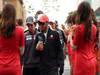 GP COREA, 14.10.2012- Sergio P�rez (MEX) Sauber F1 Team C31 e Lewis Hamilton (GBR) McLaren Mercedes MP4-27