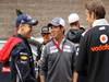 GP COREA, 14.10.2012- Sebastian Vettel (GER) Red Bull Racing RB8, Kamui Kobayashi (JAP) Sauber F1 Team C31 e Jenson Button (GBR) McLaren Mercedes MP4-27