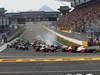 GP COREA, 14.10.2012- Gara, Start of the race, Lewis Hamilton (GBR) McLaren Mercedes MP4-27