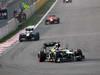 GP COREA, 14.10.2012- Gara, Heikki Kovalainen (FIN) Caterham F1 Team CT01 davanti a Vitaly Petrov (RUS) Caterham F1 Team CT01