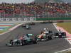 GP COREA, 14.10.2012- Gara, Michael Schumacher (GER) Mercedes AMG F1 W03