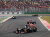 GP COREA, 14.10.2012- Gara, Jean-Eric Vergne (FRA) Scuderia Toro Rosso STR7 davanti a Daniel Ricciardo (AUS) Scuderia Toro Rosso STR7