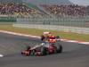 GP COREA, 14.10.2012- Gara, Lewis Hamilton (GBR) McLaren Mercedes MP4-27 davanti a Felipe Massa (BRA) Ferrari F2012