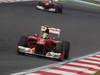 GP COREA, 14.10.2012- Gara, Felipe Massa (BRA) Ferrari F2012 davanti a Fernando Alonso (ESP) Ferrari F2012