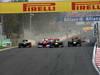 GP COREA, 14.10.2012- Gara, Start of the race