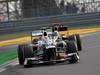 GP COREA, 14.10.2012- Gara, Sergio P�rez (MEX) Sauber F1 Team C31 davanti a Kimi Raikkonen (FIN) Lotus F1 Team E20
