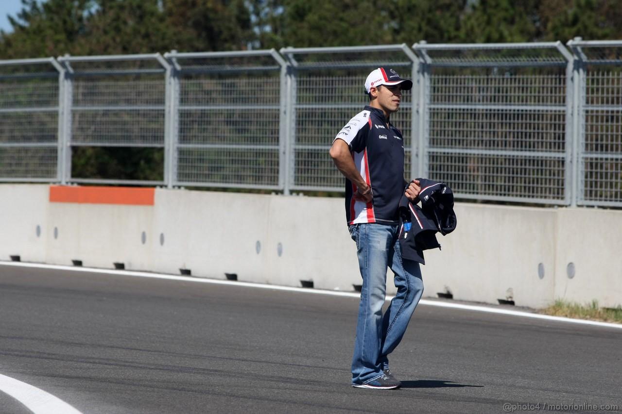 GP COREA, 11.10.2012- Pastor Maldonado (VEN) Williams F1 Team FW34