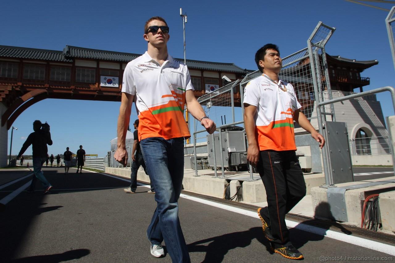 GP COREA, 11.10.2012- Paul di Resta (GBR) Sahara Force India F1 Team VJM05