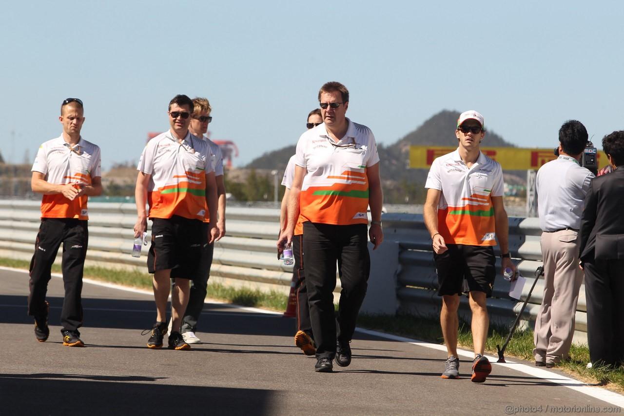 GP COREA, 11.10.2012- Jules Bianchi (FRA), Test Driver, Sahara Force India Formula One Team VJM05