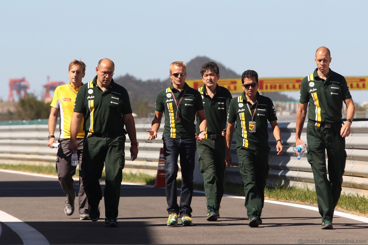 GP COREA, 11.10.2012- Heikki Kovalainen (FIN) Caterham F1 Team CT01