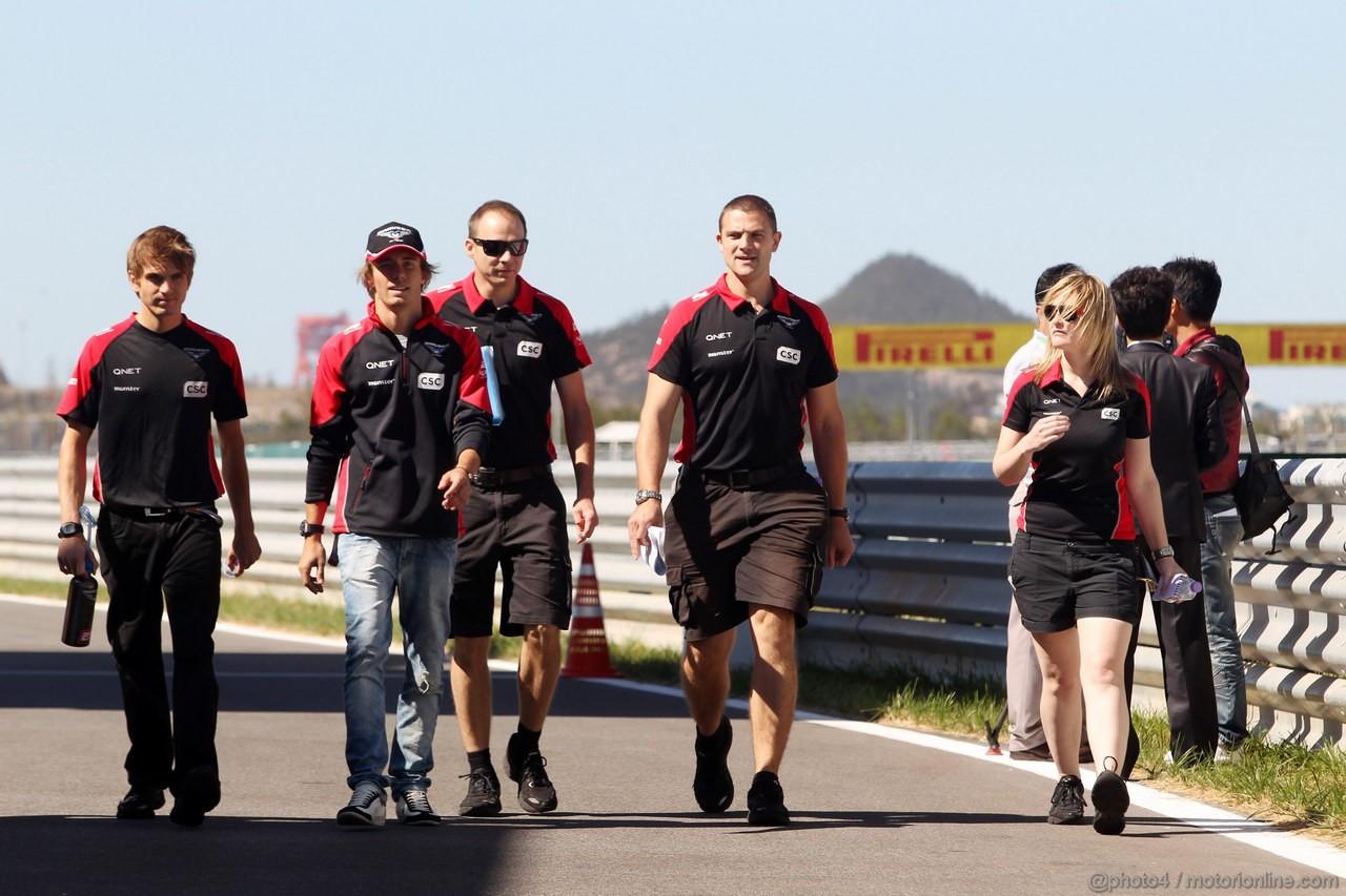 GP COREA, 11.10.2012- Charles Pic (FRA) Marussia F1 Team MR01