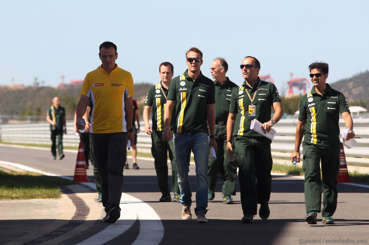 GP COREA, 11.10.2012- Giedo Van der Garde (NED), Test driver, Caterham F1 Team CT01