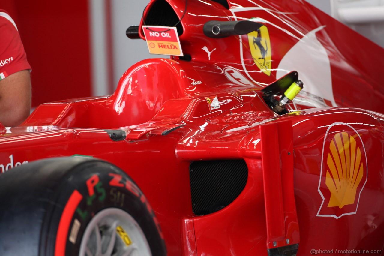 GP COREA, 11.10.2012- Ferrari F2012