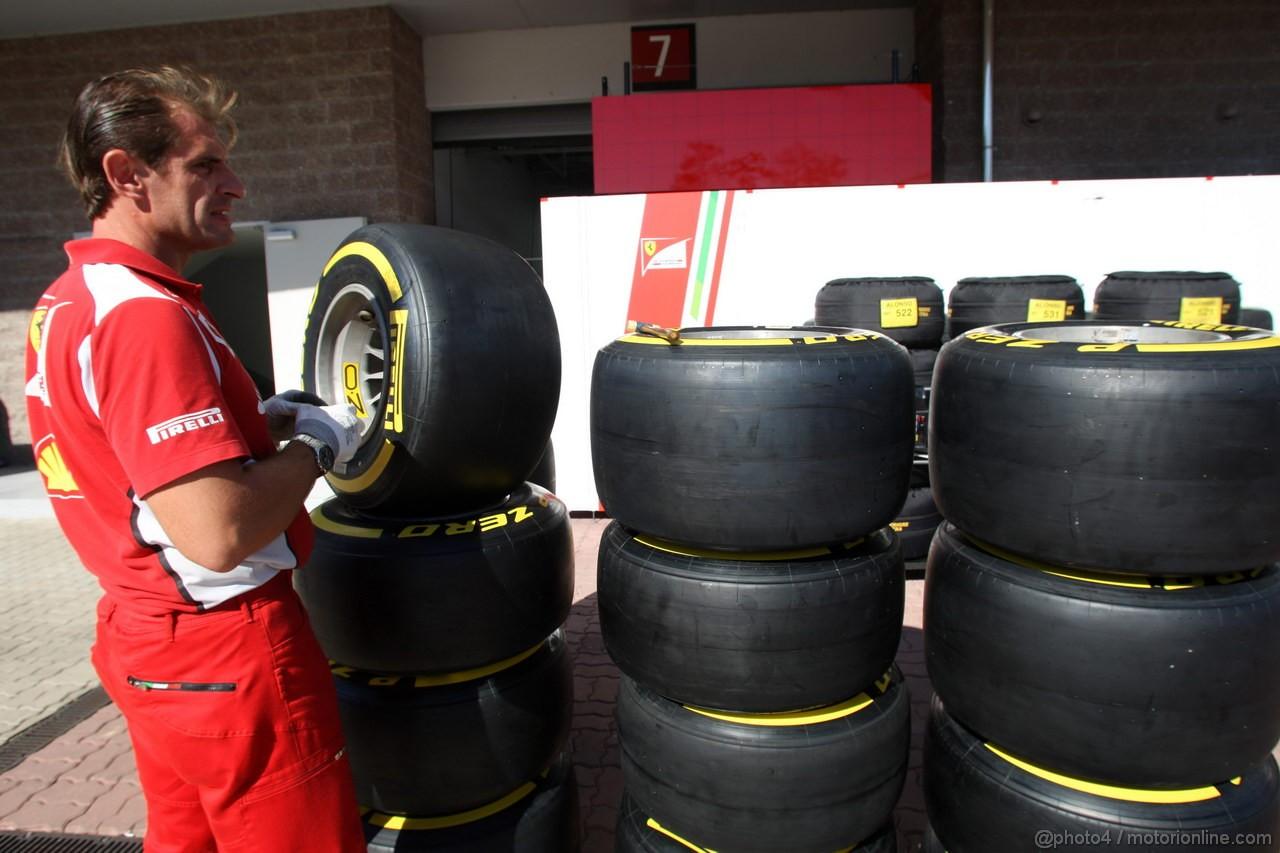 GP COREA, 11.10.2012- Pirelli Tyres, OZ Wheels