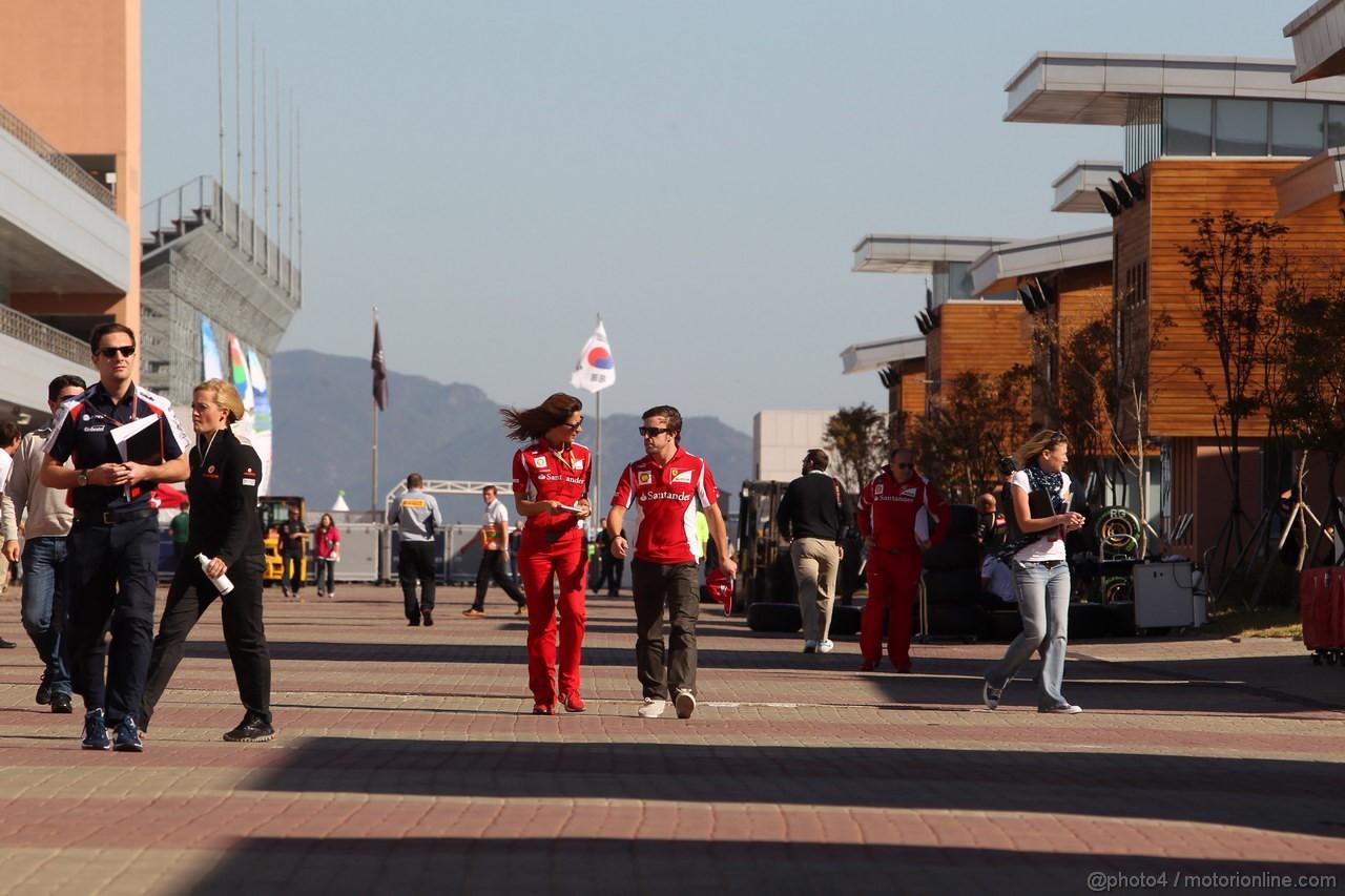 GP COREA, 11.10.2012- Fernando Alonso (ESP) Ferrari F2012