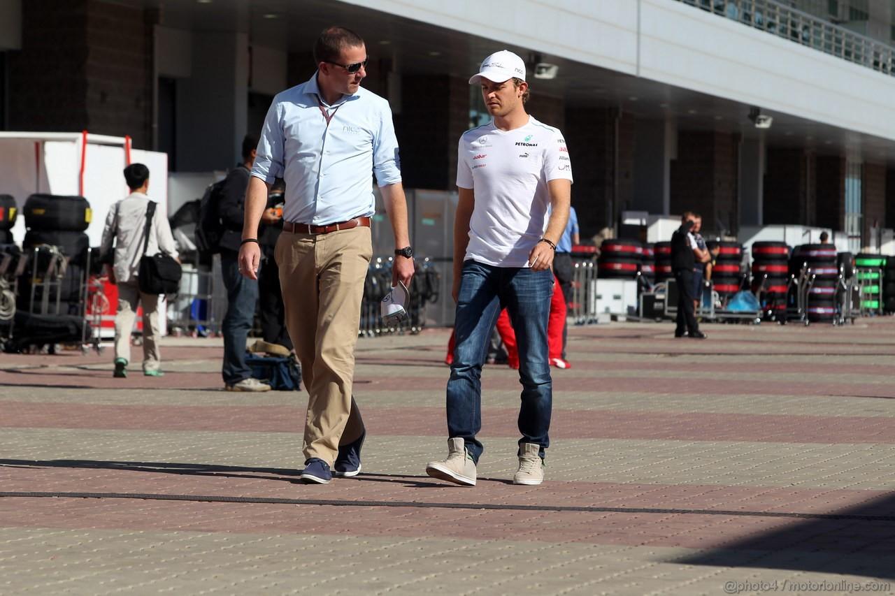 GP COREA, 11.10.2012- Nico Rosberg (GER) Mercedes AMG F1 W03