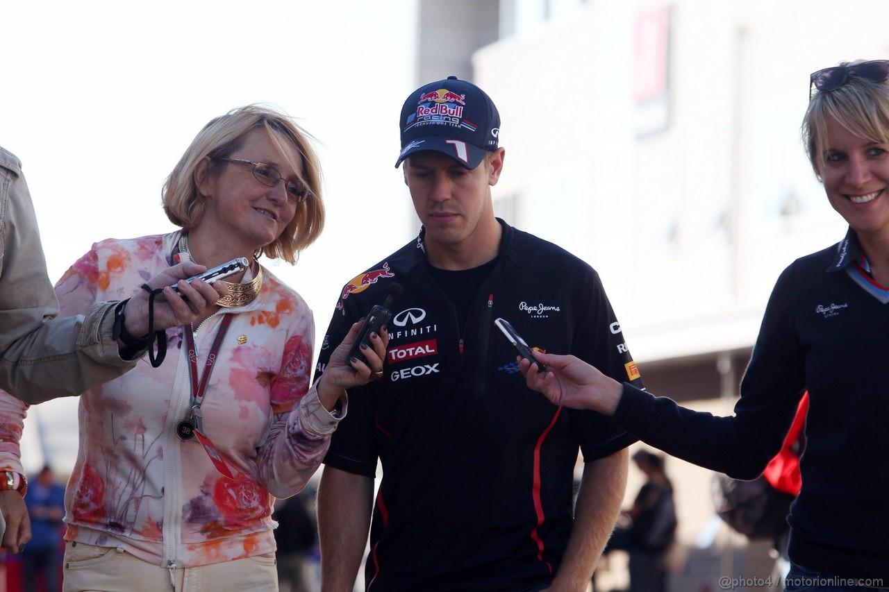 GP COREA, 11.10.2012- Sebastian Vettel (GER) Red Bull Racing RB8