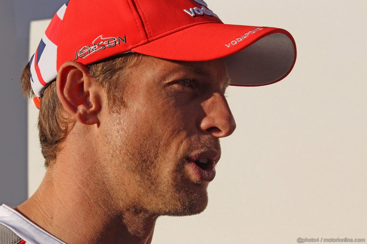 GP COREA, 11.10.2012- Jenson Button (GBR) McLaren Mercedes MP4-27