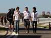GP COREA, 11.10.2012- Esteban Gutierrez (MEX), Test driver, Sauber F1 Team C31 e Sergio P�rez (MEX) Sauber F1 Team C31