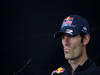 GP COREA, 11.10.2012- Conferenza Stampa, Mark Webber (AUS) Red Bull Racing RB8