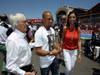 GP EUROPA, 24.06.2012- Gara, Bernie Ecclestone (GBR), President e CEO of Formula One Management, Roberto Carlos (BRA), Football player e Fabiana Flosi (BRA), fiance of Bernie Ecclestone