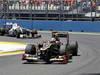 GP EUROPA, 24.06.2012- Gara, Kimi Raikkonen (FIN) Lotus F1 Team E20 davanti a Kamui Kobayashi (JAP) Sauber F1 Team C31