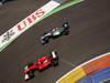 GP EUROPA, 24.06.2012- Gara, Fernando Alonso (ESP) Ferrari F2012 e Michael Schumacher (GER) Mercedes AMG F1 W03