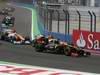 GP EUROPA, 24.06.2012- Gara, Kimi Raikkonen (FIN) Lotus F1 Team E20 e Nico Hulkenberg (GER) Sahara Force India F1 Team VJM05