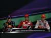 GP GERMANIA, 22.07.2012 - Post Gara press Conference - Fernando Alonso (ESP) Ferrari F2012, Sebastian Vettel (GER) Red Bull Racing RB8, Jenson Button (GBR) McLaren Mercedes MP4-27