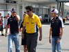 GP GIAPPONE, 07.10.2012- Bruno Senna (BRA) Williams F1 Team FW34 e Pastor Maldonado (VEN) Williams F1 Team FW34